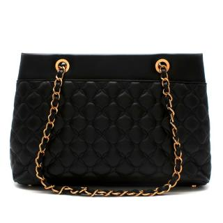 Chopard Black Quilted Leather Imperiale Shoulder Bag