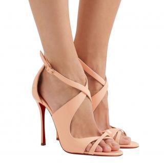 Christian Louboutin Malefissima Criss Cross Sandals