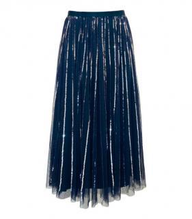 Needle & Thread Sequin Embellished Tulle Skirt