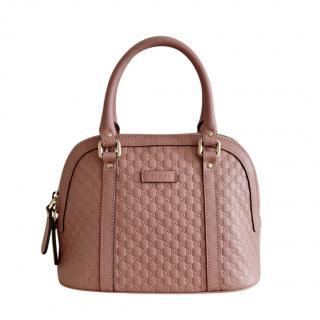 Gucci Pink Microguccissima Shoulder Bag