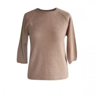 Max Mara Virgin Wool & Cashmere Knit Jumper