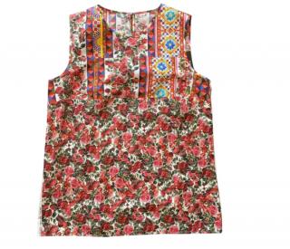 Dolce & Gabbana Red Carretto Print Vest
