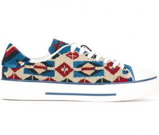 Valentino Garavani Beaded Platform Sneakers