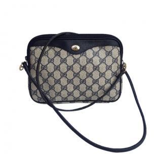 Gucci Vintage Monogram Crossbody Bag