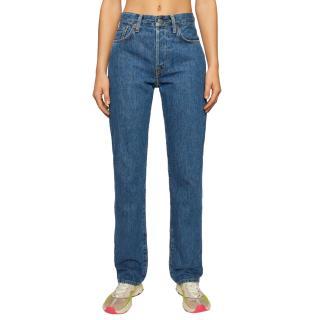 Acne Studios 1997 Dark Blue Trash jeans
