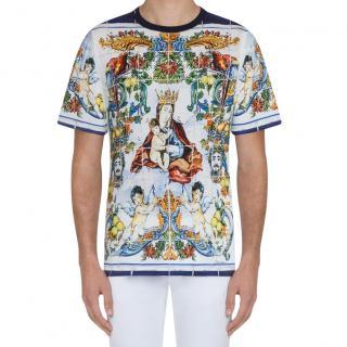 Dolce & Gabbana Slim Fit Printed T-Shirt