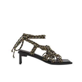 Miista Annie Black Sandals
