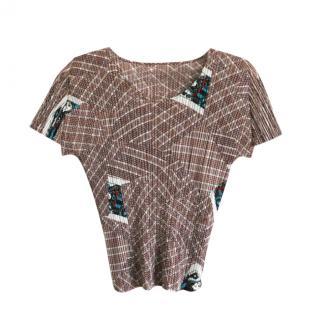 Pleats Please Vintage Short Sleeve Top