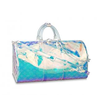 Louis Vuitton Keepall Bandouli�re 50 Prism Monogram