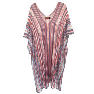 Missoni Striped Metallic Knit Cover-Up