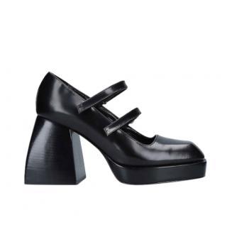 NODALETO Bulla Babies leather platform sandals