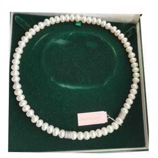 Judith Ripka Adjustable Pearl Necklace