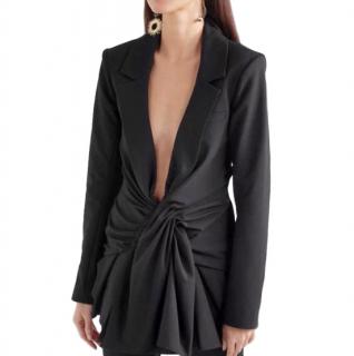 Jacquemus Black La Bomba Blazer Mini Dress