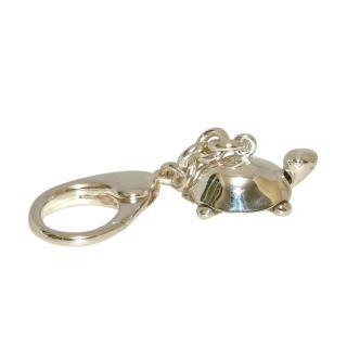 William & Son Sterling Silver Tortoise Keychain
