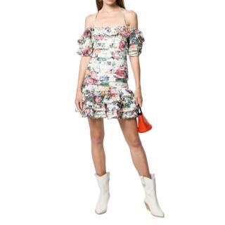Zimmermann Allia floral print mini dress
