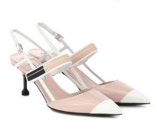Prada Sport Strap Slingback Sandals
