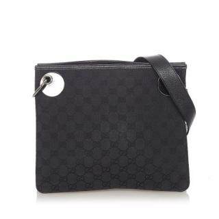 Gucci GG Canvas Eclipse Crossbody Bag