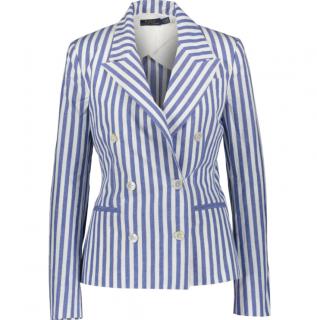 Polo Ralph Lauren Striped Blue & White Blazer