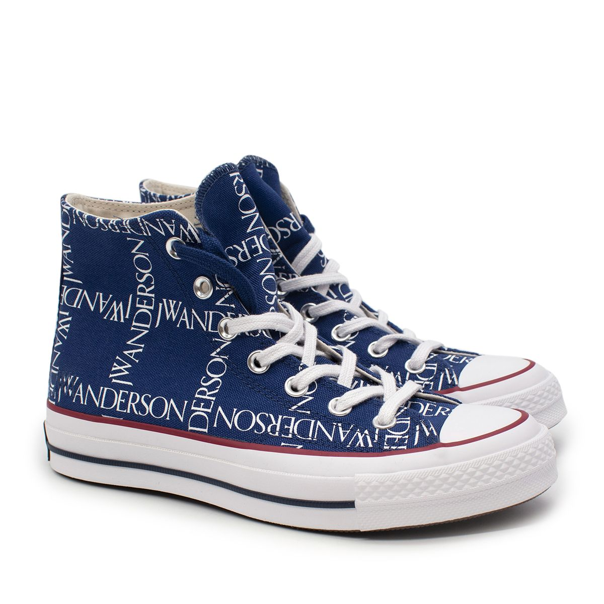 JW Anderson x Converse Chuck Taylor Royal Blue High-Top Sneakers