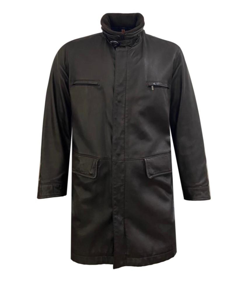Fratelli Rossetti Men's Brown Leather Jacket