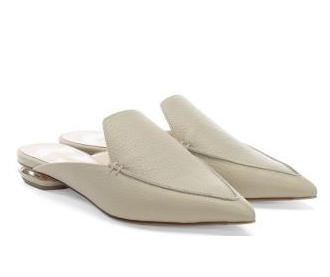 Nicholas Kirkwood Stone Leather Slides