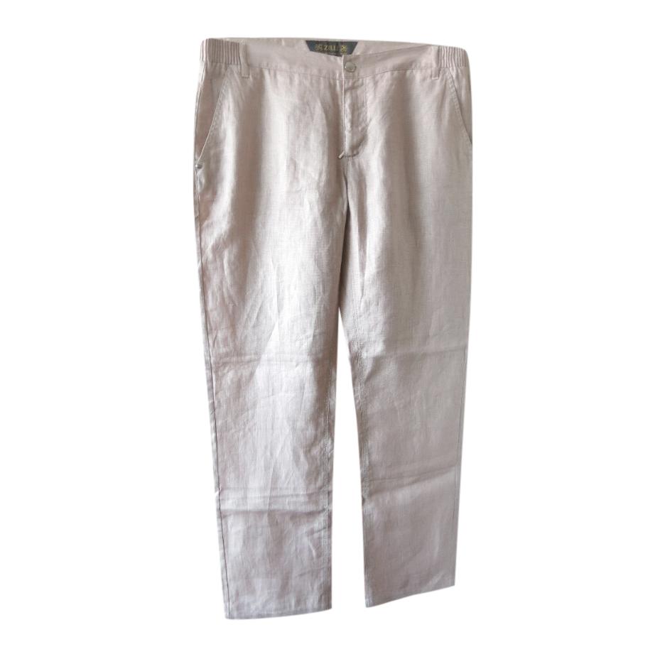 Zilli Linen Lightweight Summer Pants