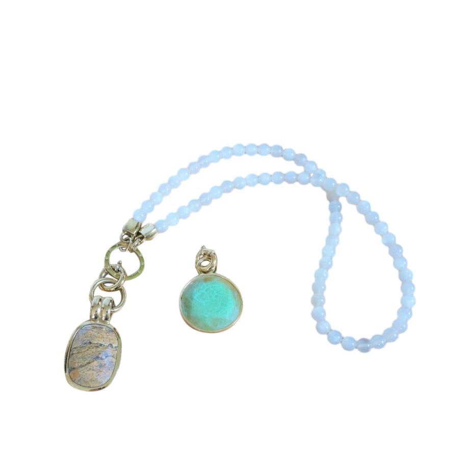 Dyrberg/Kern Interchangeable Pendant Necklace