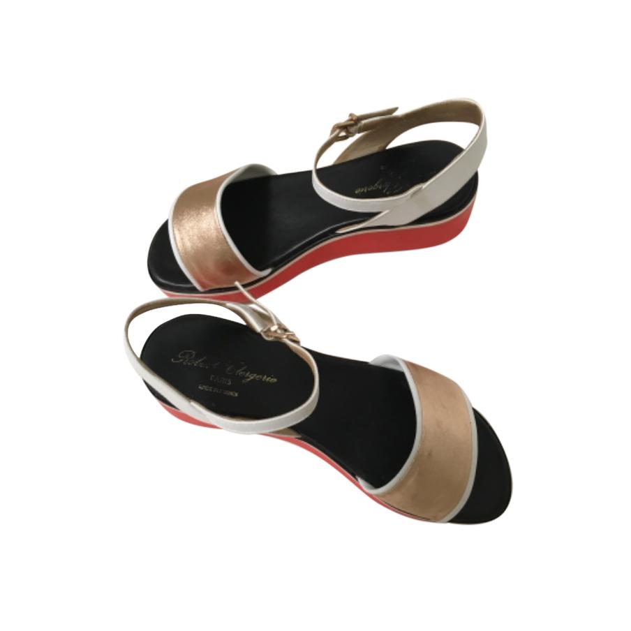 Robert Clergerie Colourblock Platform Sandals