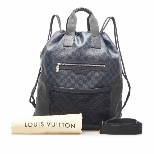 Louis Vuitton Damier Cobalt Matchpoint Hybrid Bag