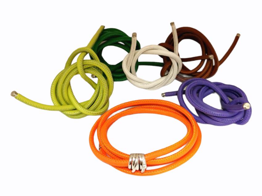 De Grisogono 18ct White Gold Diamond Bracelet w/ Interchangeable Cords