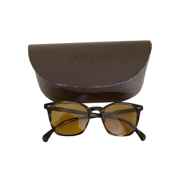 Oliver Peoples 50mm square sunglasses