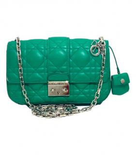 Dior Green Cannage Leather Miss Promenade Bag