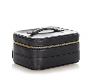 Chanel VIntage Lambskin Small Vanity Bag