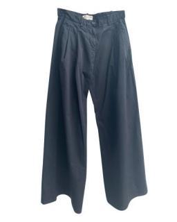 Nili Lotan Black Wide Legged Pants