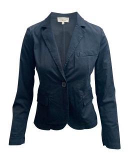 Nili Lotan Black Single Breasted Blazer