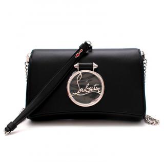 Christian Louboutin Black Leather Shoulder Bag