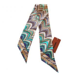 Missoni Silk Printed Bandeau