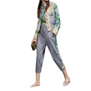 Dolce & Gabbana Hortensia Jacquard Jacket