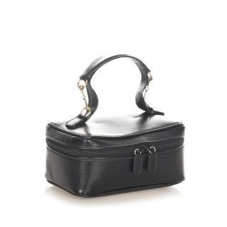Gucci Horsebit Leather Vintage Vanity Bag