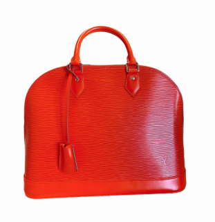 Louis Vuitton Red Epi Leather Alma MM