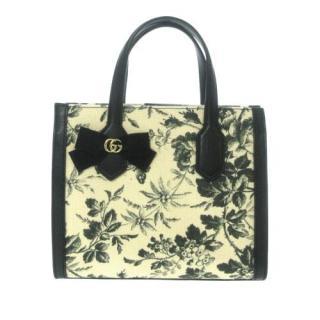 Gucci Herbarium Canvas Tote Bag