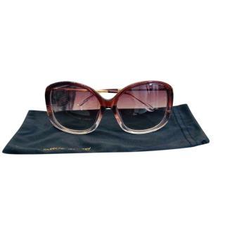 Linda Farrow x Prabal Gurung Oversize Sunglasses