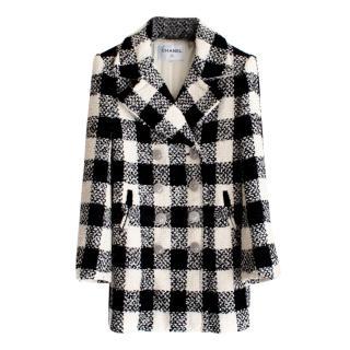 Chanel Black/Ivory Paris/Rome Tweed Jacket
