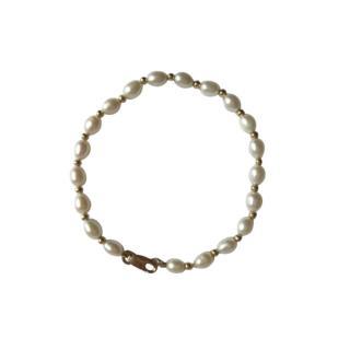 Bespoke Vintage Pearl Bracelet