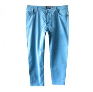 Kiton Blue Classic Men's Jeans