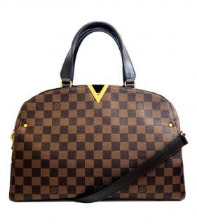 Louis Vuitton Damier Ebene Kensington Bowling Bag