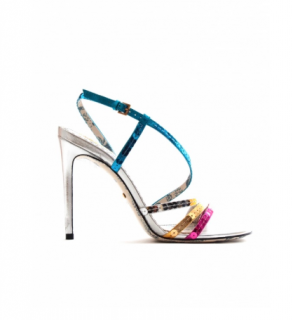 Gucci Sequin Embellished Strappy 105mm Sandals