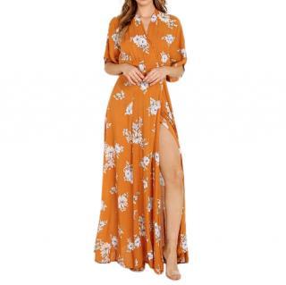 Faithfull the Brand Bergamo Maxi Dress Chelsea Floral