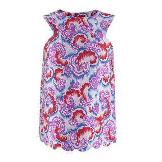 Osman Jacquard Japanese Swirl Top. Sold Out.