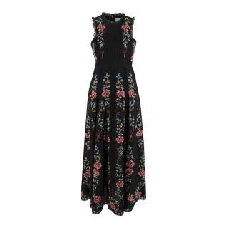 Zimmermann Laelia Embroidered Linen Dress
